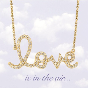 Love necklace from Austique