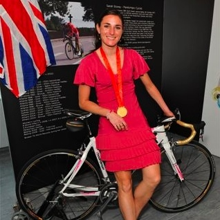Sarah Storey paralympic ambassador