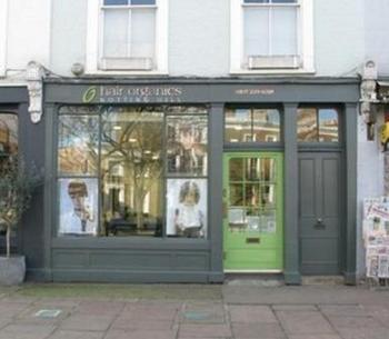 Hair Organics Ladbroke Grove Notting Hill hairdresser