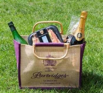 Patridges Duke of York Square picnic bag