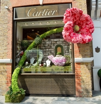 Cartier Pink Flower Chelsea in Bloom