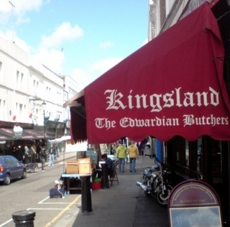 Portobello Road Kingsland Edwardian Butchers Notting Hill Gate