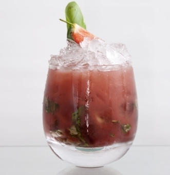 Funkin Basil Grande Cocktail recipe