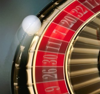 Online casino roulette wheel