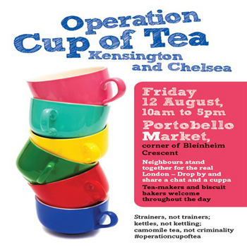 Operation Cup of Tea, Notting Hill