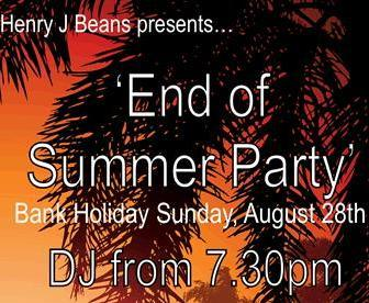 Henry J Beans Chelsea End of summer party