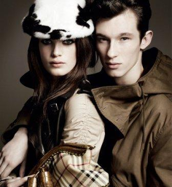 Callum Turner Burberry AW11 men