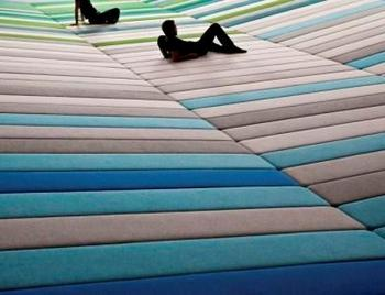Textile field Ronan and Erwan Bourollec