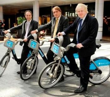 Boris Bike Hammersmith Fulham