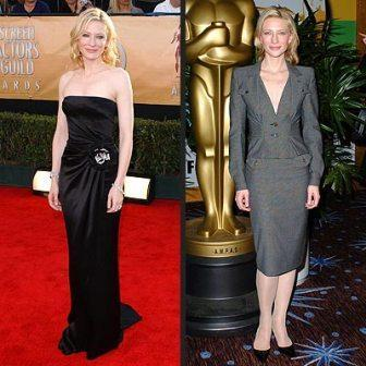 Cate Blanchett retro fashion