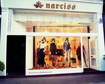 NARCISS boutique Westbourne Grove Notting Hill