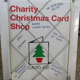 Christmas Card Charity Shop Chelsea