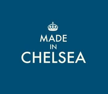 Made in Chelsea E4 blue image
