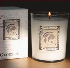 Geodesis Freesia candle Peter Jones Sloane Square