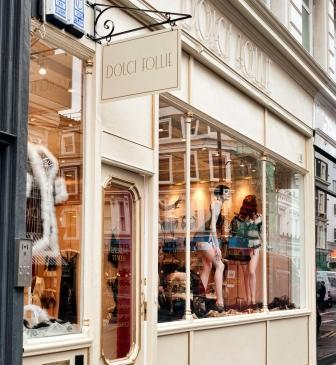 Dolci Follie boutique Notting Hill