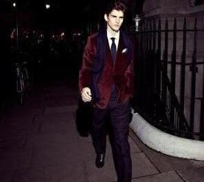 Reiss velvet men jacket