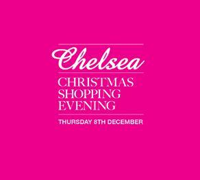 Chelsea Christmas Shopping event