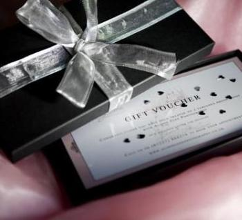 Luxury gift voucher