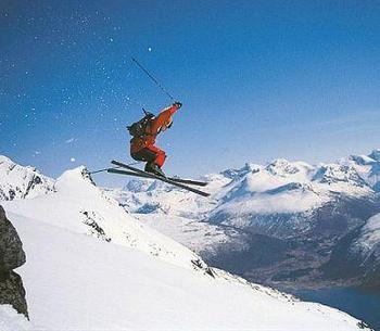 Skiing exercise