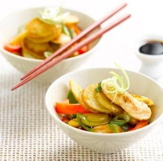Chinese Chicken Potatoes dish