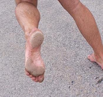 Barefoot running