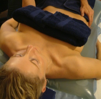 Hydrotherm massage treatment