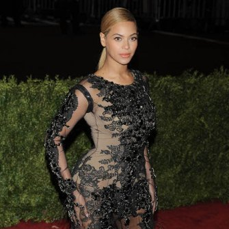 Beyonce Knowles Givenchy Haute Couture dress