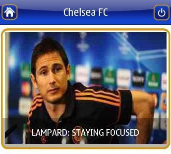 Chelsea FC Nokia App