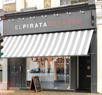 El Pirata Detapas Notting Hill