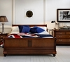 Palais wooden sleigh bed