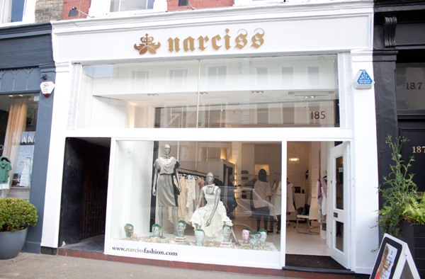 NARCISS Notting Hill boutique