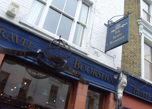 Travel Bookshop, Notting Hill