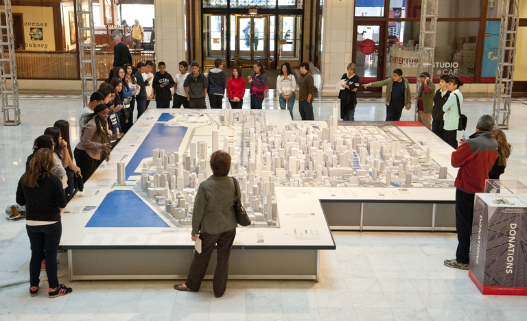 Chicago model at chicago architecture foundation