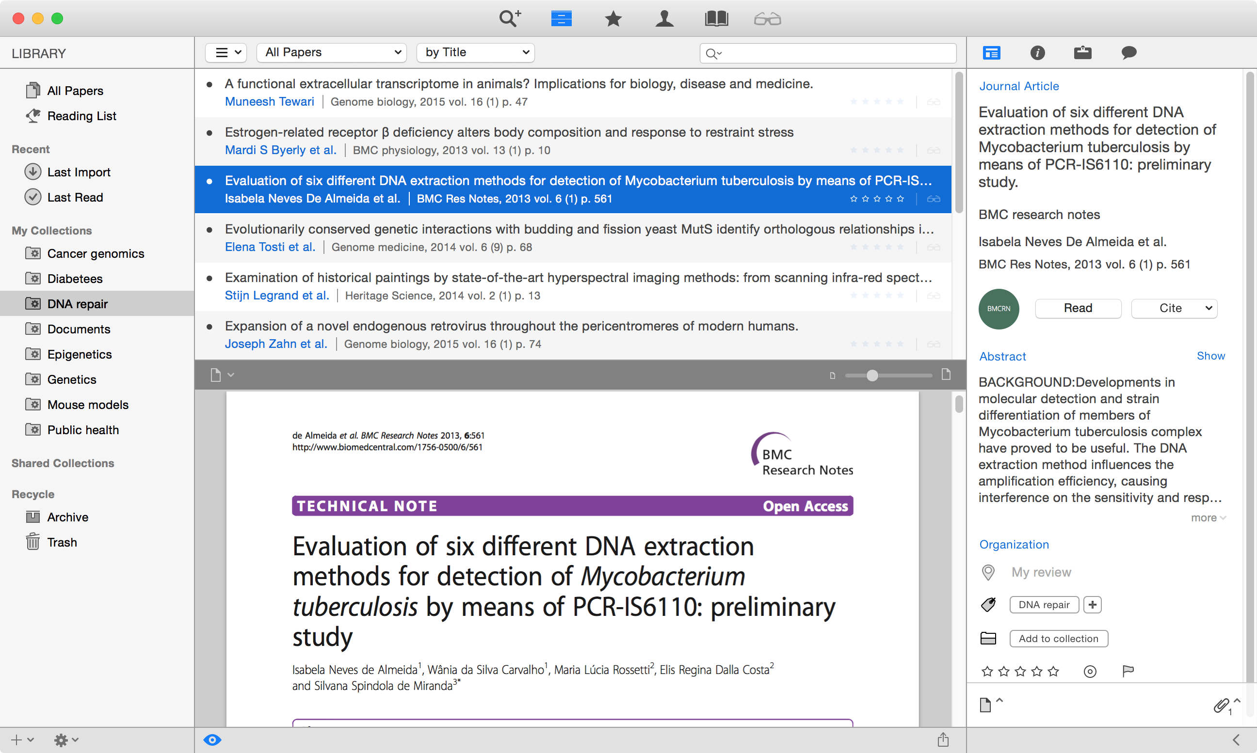 mac software for research papers