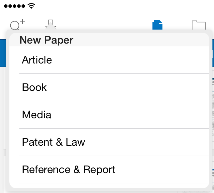 Papers Support Ios