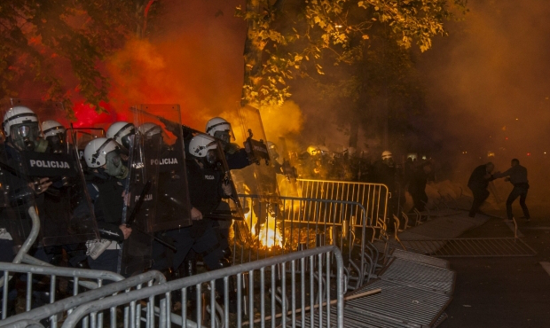 police-at-nto-protests-in-montenegro