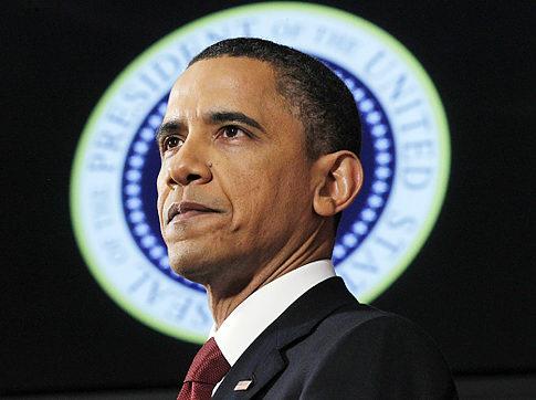 President Barack Obama speaks about Libya at the National Defense University in Washington, Monday, March 28, 2011. (AP Photo/Charles Dharapak) Original Filename: Obama Libya.JPEG-0f795.jpg