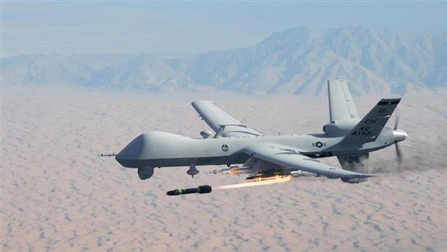 US MQ-9 Reaper assassination drone
