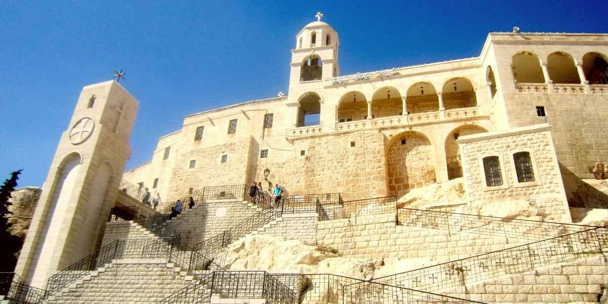Сайданайский монастырь в Сирии