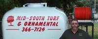 Website for Mid-South Turf & Ornamental