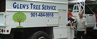 Website for Glen's Tree Service