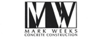 Website for Mark Weeks Concrete