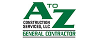 Website for A to Z Construction Services, LLC