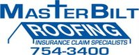 Website for Masterbilt Roofing