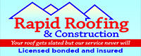Website for Rapid Roofing & Construction