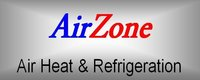 Website for AirZone Air, Heat & Refrigeration