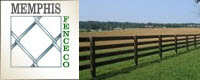 Website for Memphis Fence Company, LLC