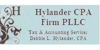 Website for Hylander CPA Firm, PLLC