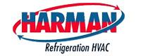 Website for Harman Refrigeration  HVAC
