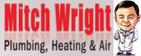 Website for Mitch Wright Plumbing, Heating & Air